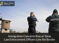 Immigration Concerns Rise as Texas Law Enforcement Officers Line the Border