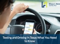 Texting and Driving Attorney in Round Rock Texas